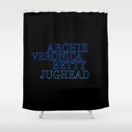 Riverdale Core Shower Curtain