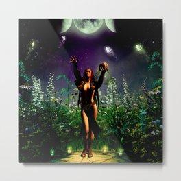 The dark fairy Metal Print