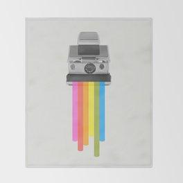Taste the Rainbow Throw Blanket