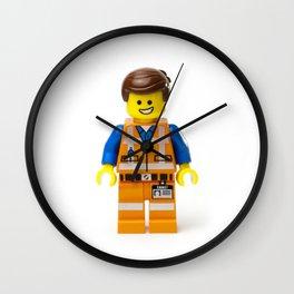 Emmet Minifig Wall Clock