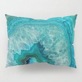 Teal Agate Pillow Sham
