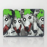 pigs iPad Cases featuring pigs by blaf