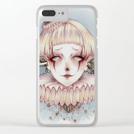 Simple Happiness Clear iPhone Case