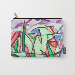 Neon Street Art Carry-All Pouch