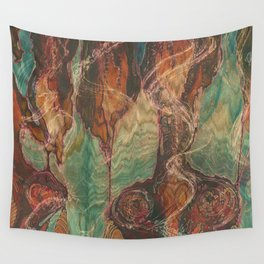 Ecstatic Pelvis (Meat Flame) Wall Tapestry