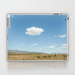 White clouds in the mountains Laptop & iPad Skin