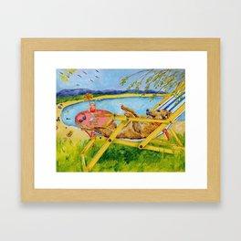 Retirement Framed Art Print