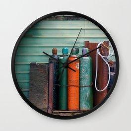 Colors - Tanks Wall Clock
