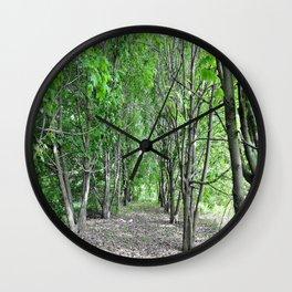 Аlley Wall Clock