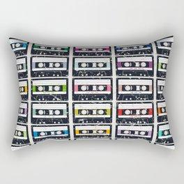 Cassette Tapes Rectangular Pillow
