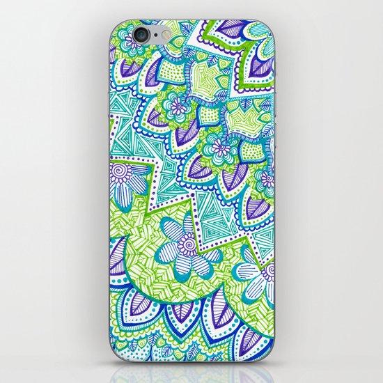 Sharpie Doodle 2 iPhone & iPod Skin
