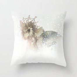 Snowblinded Throw Pillow