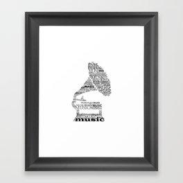 Gramophone Framed Art Print