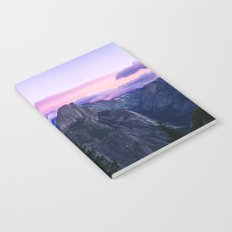 The Mountains and Purple Clouds Notebook