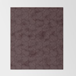 Meredith Paisley - Wine Red Throw Blanket