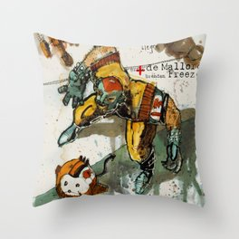 Strong MEX Throw Pillow