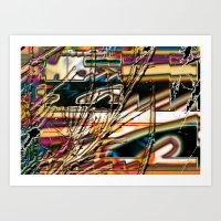 trippy Art Prints featuring trippy by Kayla Davis