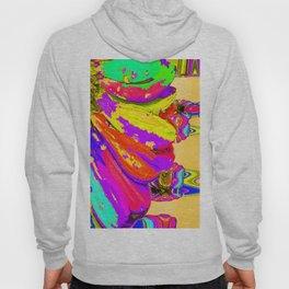 Rainbow Abstract Daisy Hoody