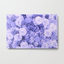 bouquet ver.blue-b Metal Print