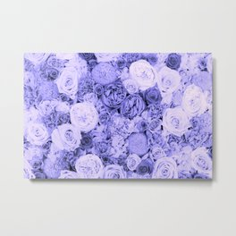 bouquet ver.blue-b Metal Print