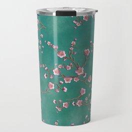 SAKURA LOVE - GREEN Travel Mug