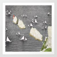 The Needle and the sails Art Print