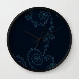 Subtle Delicacy - Fractal Art Wall Clock
