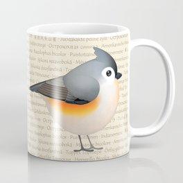 Tufty baeolophus Coffee Mug