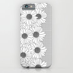 Daisy Grid on Side iPhone 6s Slim Case