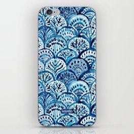 DEEP LIFE Mermaid Scales iPhone Skin