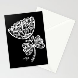 White Flower 92 Stationery Cards