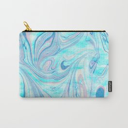 Colorful Marble Stone Carry-All Pouch