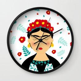 Dear Frida Wall Clock