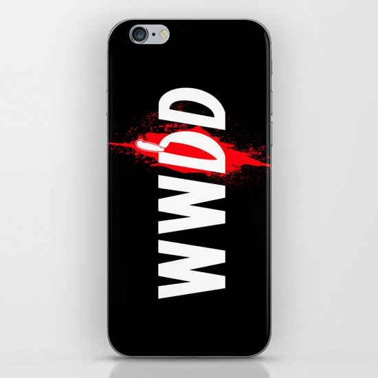 What Would Dexter Do? iPhone & iPod Skin