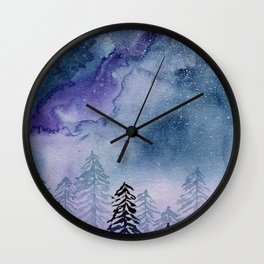 Autumn Moonlight Wall Clock