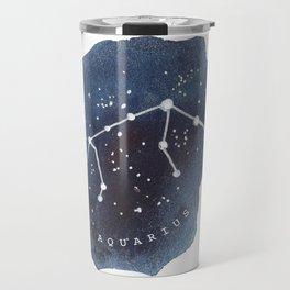 aquarius constellation zodiac Travel Mug