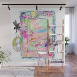 Colorful Scribble Beach Wall Mural
