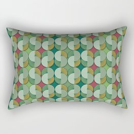 Geometric patterns in interior design and decoration Rectangular Pillow