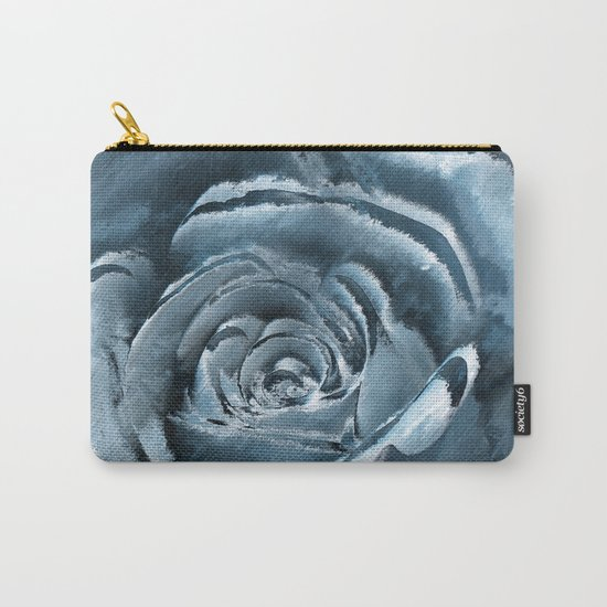 The blue rose Carry-All Pouch