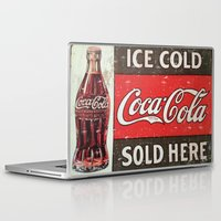 coke Laptop & iPad Skins featuring Coke by R&R.