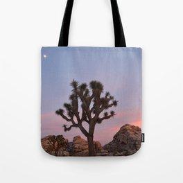 Joshua Tree Full Moon Tote Bag
