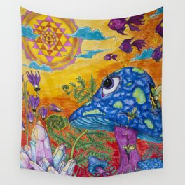 Enchanted Garden (Gallery Edition) Wall Tapestry