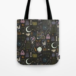 Haunted Attic Tote Bag