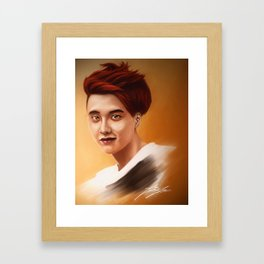 DO KYUNGSU Framed Art Print
