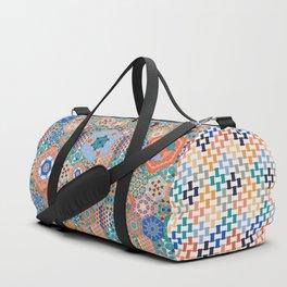 Hexagons Tiles (Colorful) Duffle Bag