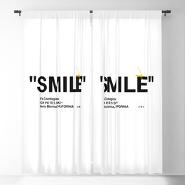"""SMILE"" Blackout Curtain"