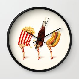 Movie Girls Wall Clock