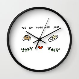 we go together like 2 Wall Clock