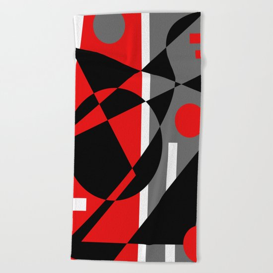 Abstract #353 Beach Towel
