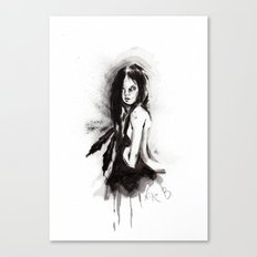Tristes Armas (Sketch version) Canvas Print